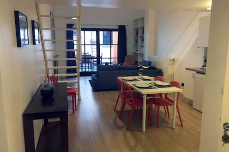 Spacious studio in the city of Antwerp - Antuérpia