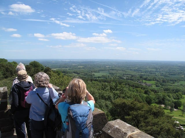 View from Leith Hill, Surrey - 14 miles away