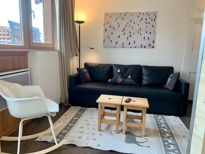 Appartement 6 pers hyper centre Station Avoriaz