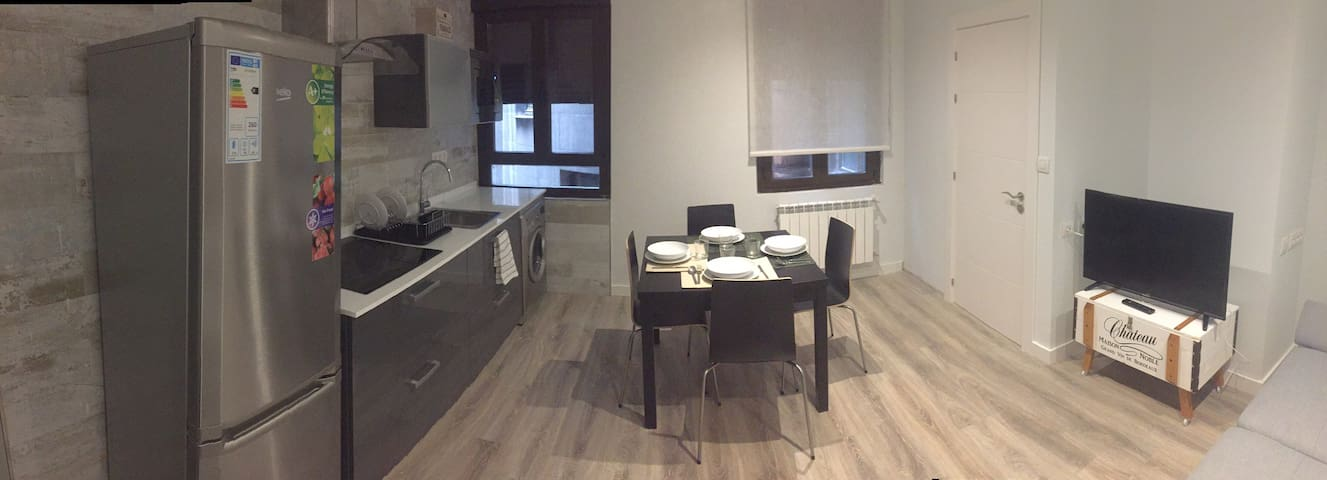 Apartment refurbished in the city centre of León