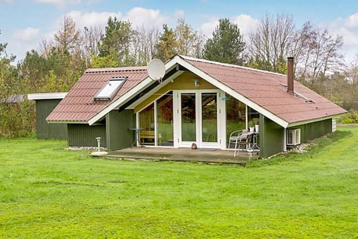 Wonderful Holiday Home in Oksbol with Terrace