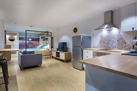 Modern studio apartment in the mountains
