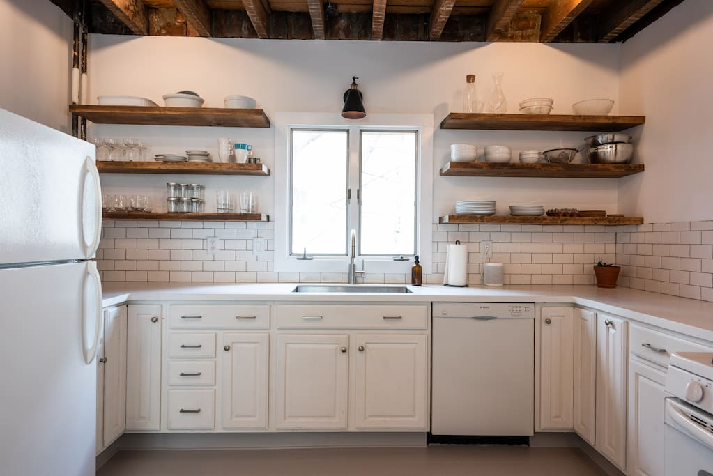 Newly renovated kitchen in 2018