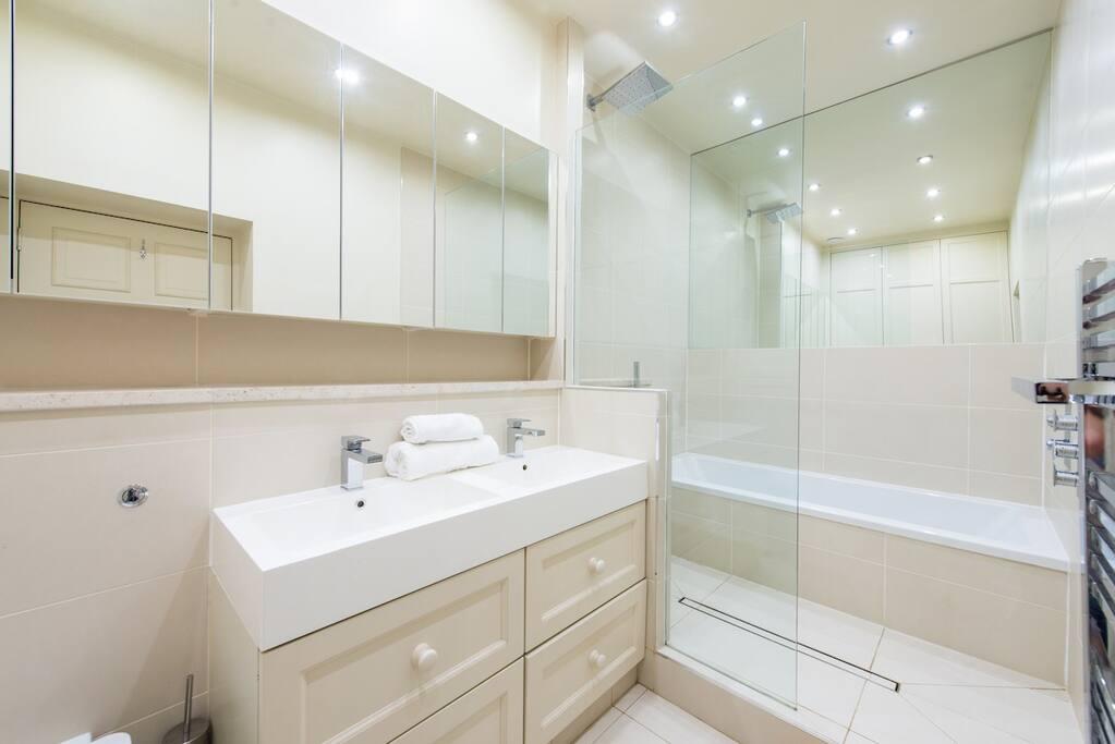 Enormous master bathroom !