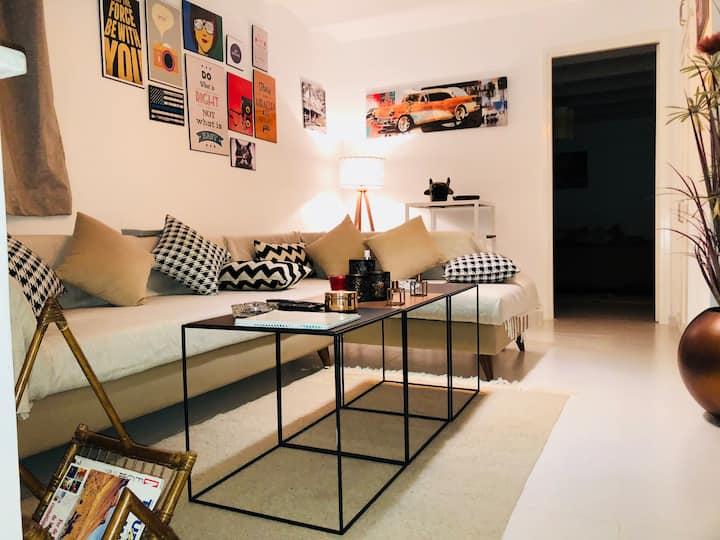 The Most  charming apartment in La Marsa