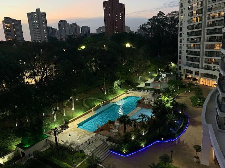 Apartamento neo clássico jardim do parque