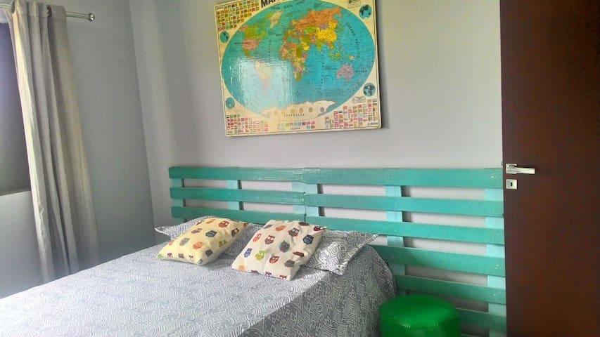 Suíte individual com vista pra Serra - Palmas - Apartment