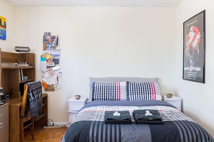 Bedroom in Spacious Brighton Apartment - Boston - Lakás