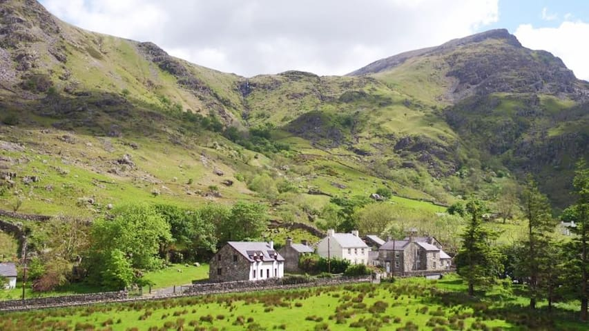 Snowdon House. Snowdonia near Llanberis