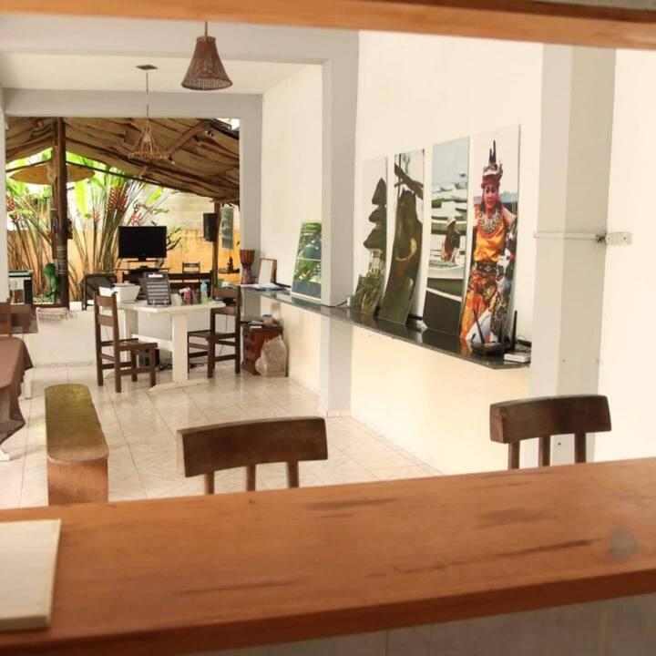 Hostel Itamambuca Cama 1  - 800 metros da praia