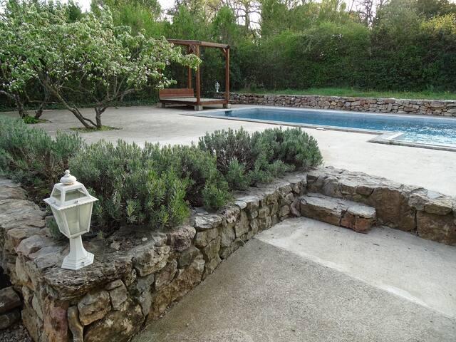 Villa au calme dans un cadre nature sans vis-à-vis