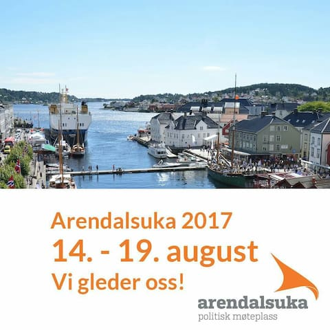Ideelt for Arendalsuka. - Arendal - 獨棟