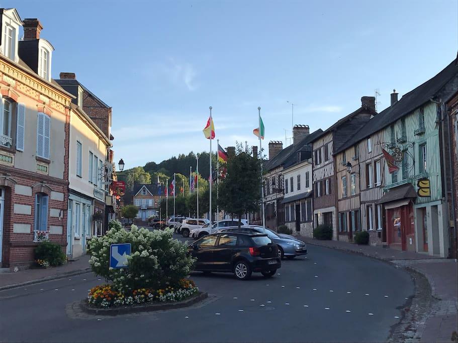 Au cœur du bourg