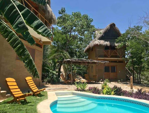 Peace, quiet & nature. Casa Axolotl, bungalow #2