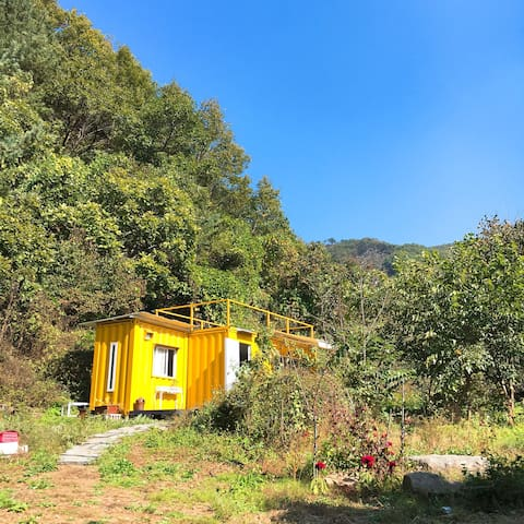 Yellow Tiny House - 연천군 - Casa
