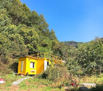 Yellow Tiny House - 연천군 - Hus
