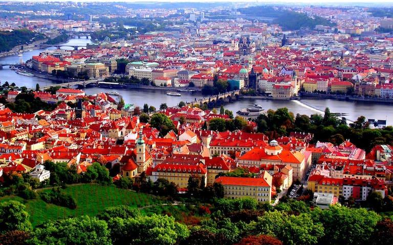 Beautiful Prague Apt, near center & great parks - Prague - Apartment