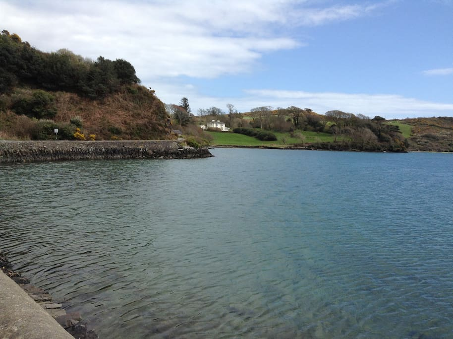 Lough Hyne is a short distance away, it is an area of outstanding beauty