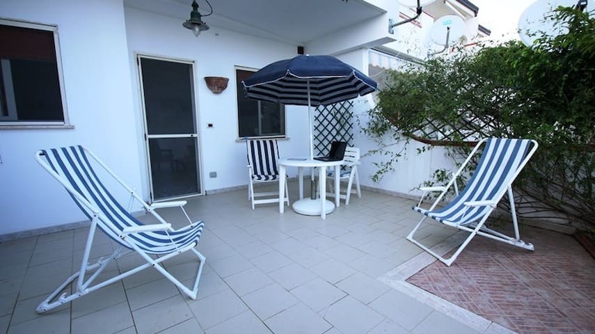 Casa sulla spiaggia - Faro di Capo Spartivento