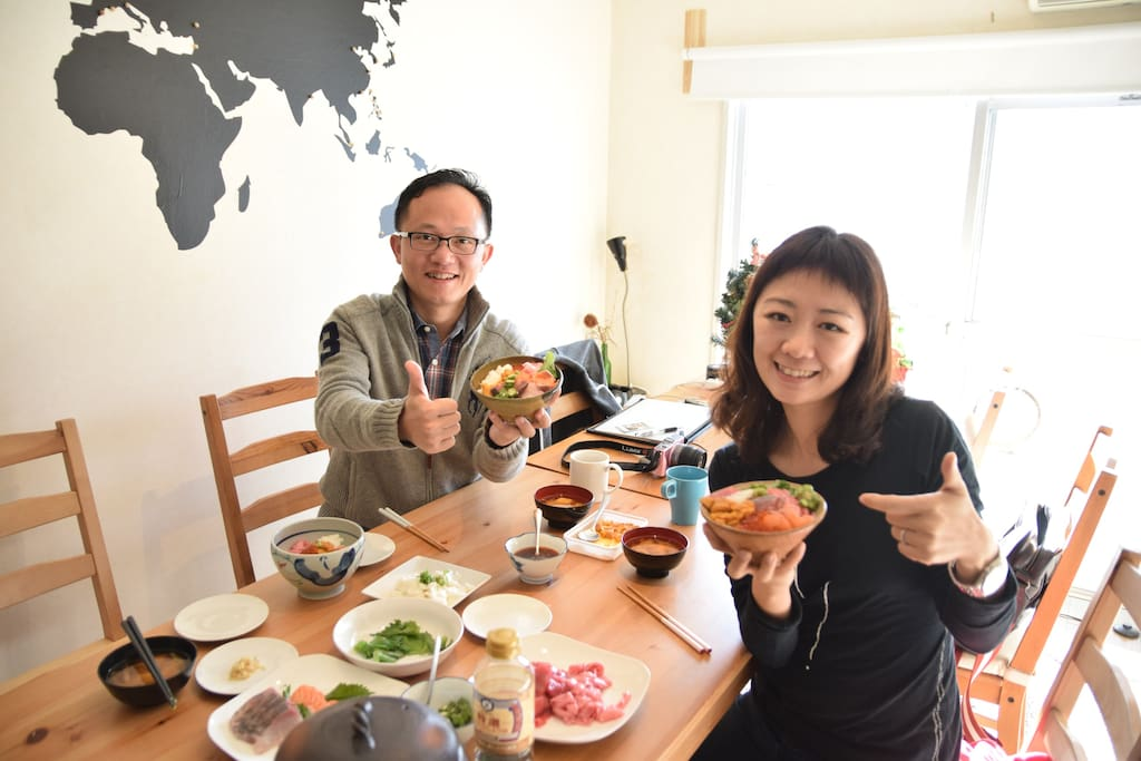 You can eat seafood as much as you want KIKO cooking!