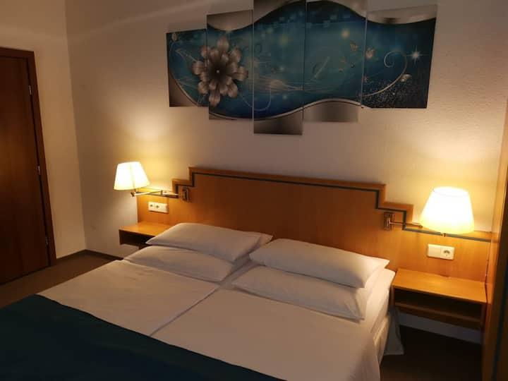 Doppelzimmer im Hotel Residenz Ansbach