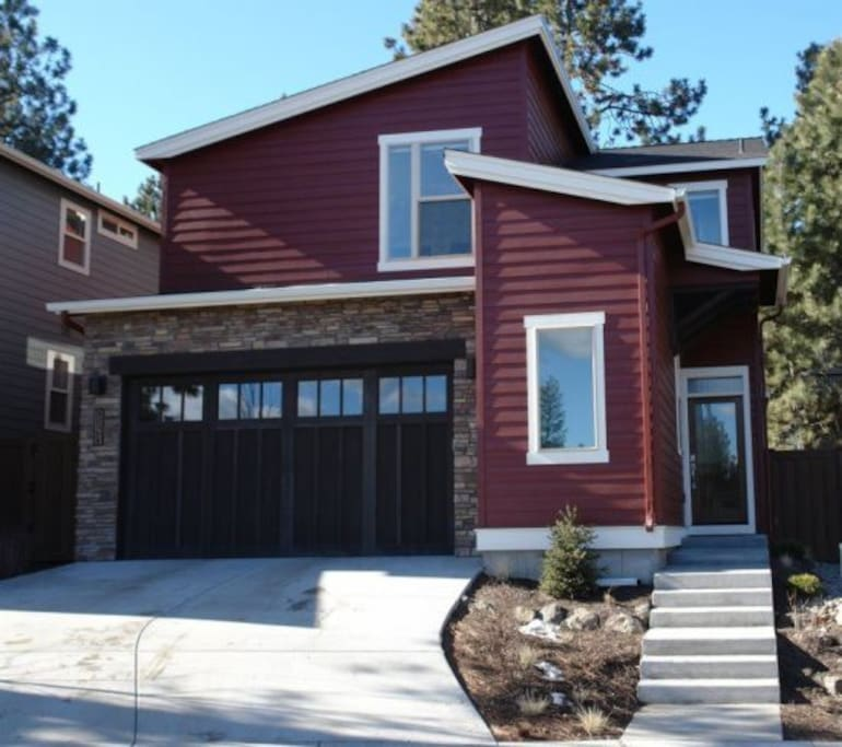 Vacation Rental in Bend, Oregon. Wanoga House