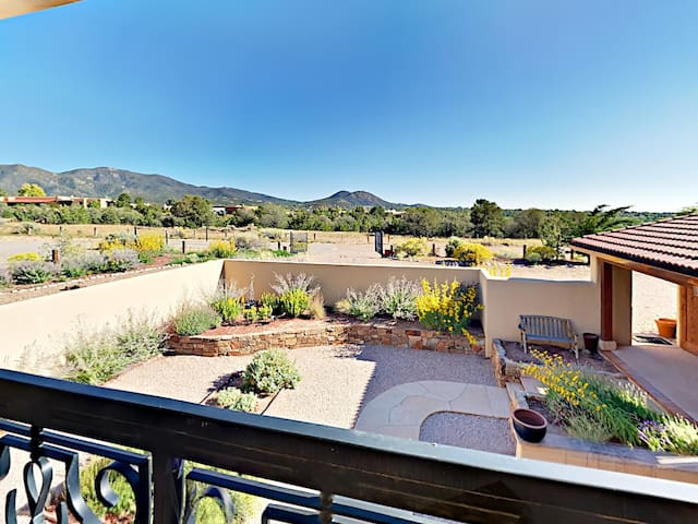 Gaze across a stunning backdrop from the 2nd bedroom balcony.