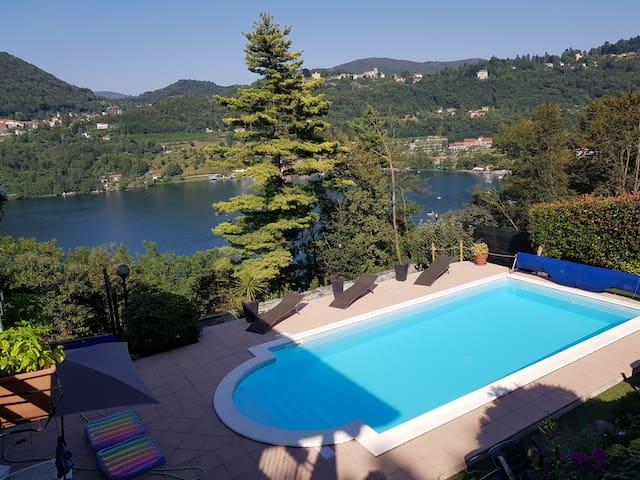 Beautiful Villa in Orta with pool.