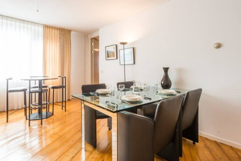 Dining area and bar table