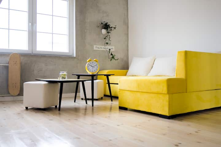 Yellow Sweet Cherry Studio - City Center