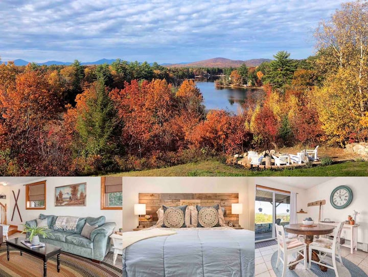 The Perch On Ossipee Lake: Mtn. View & Lake Access