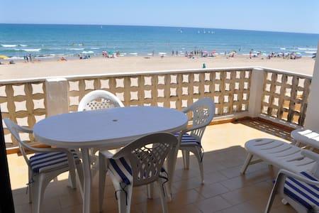 Primera línea de playa (7 personas) - Oliva