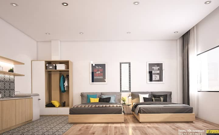 Cozy Studio Plus Apt in Haichau District, Dannag C