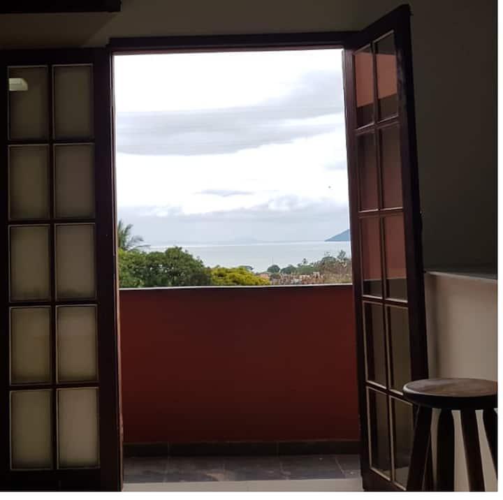 kitnet Sao Sebastiao- Bairro São Fco  Vista Mar