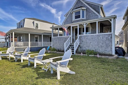 Oceanfront Cape Cod Home w/ Porch, Yard + Grill!