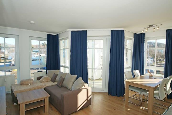 H: Seepark Sellin - Haus Altensien Whg 463 mit Balkon, Haus Altensien Whg 463 mit Balkon