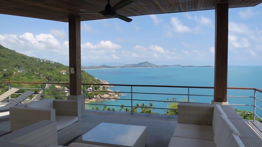 3 bed luxuary Apartm Stunning Views - Koh Samui - Flat