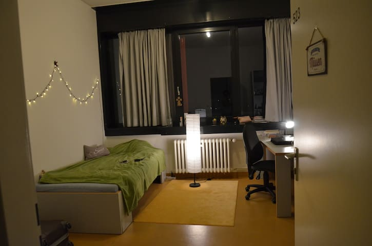 Separate room in a student dorm, Schwabing