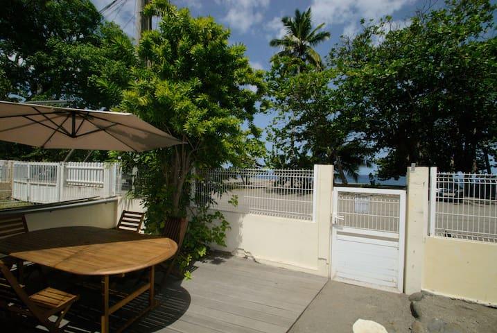 La villa 3 chambres sur la plage du coin