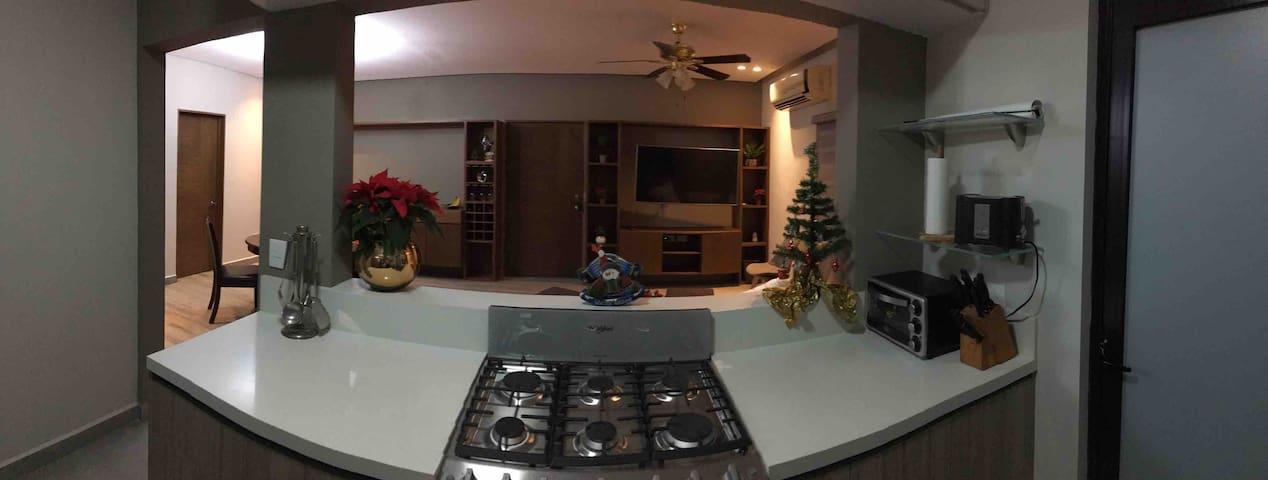 Habitación en San Pedro: cómoda y céntrica