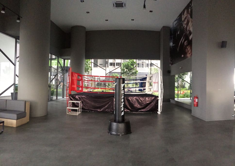 thaibox stage