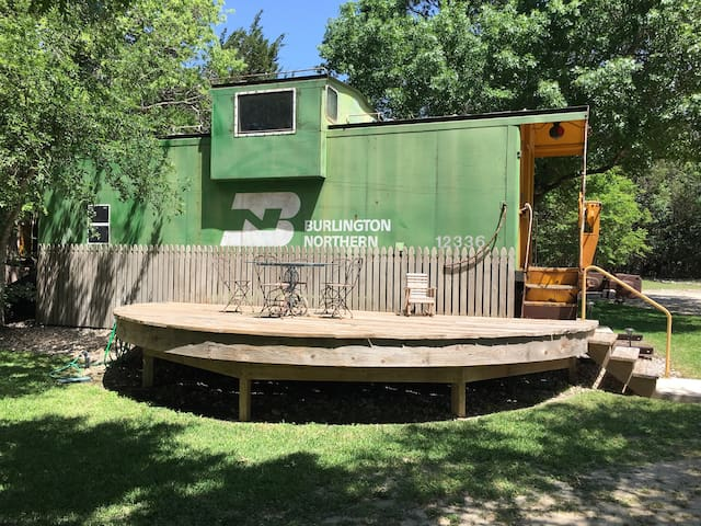 Shabby Chic Train Caboose #1
