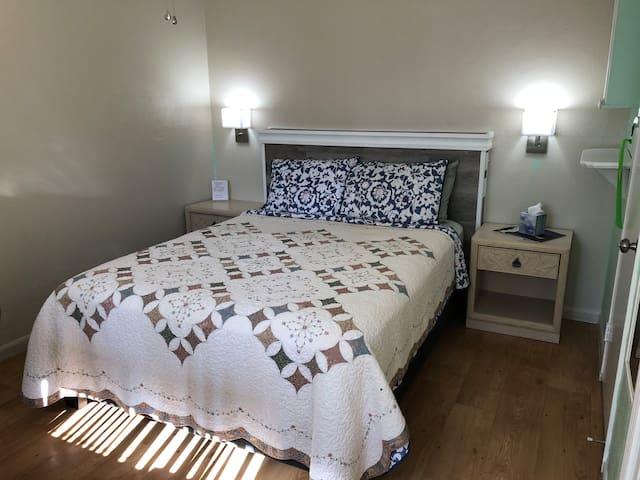 Bedroom Apt 2  Queen Bed