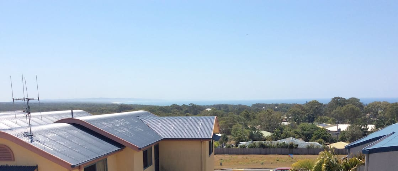 Rainbow Beach home - Great views of Fraser Island.