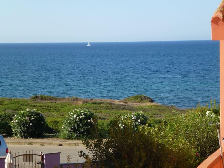 Con il mare davanti