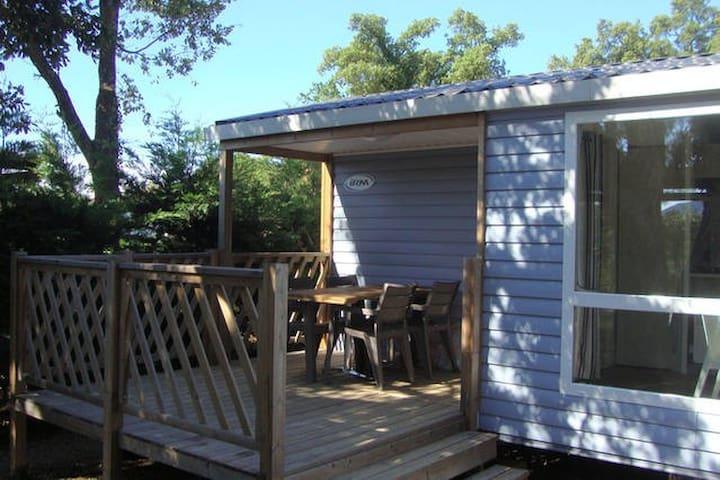 Shady veranda