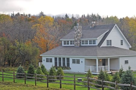 Private Estate for any Season (3 min to Mt Snow).