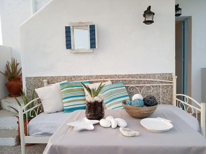 Murtia House at Eggares village ~ Naxos island