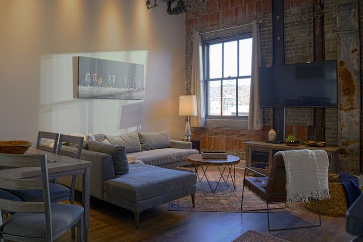Lofts at Woolworth in downtown Asheville NC! #207
