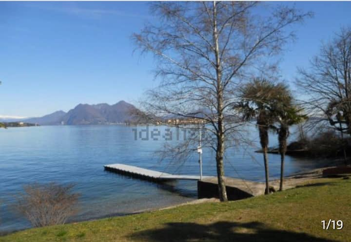 Elena & Alessandro app. spiaggia/vista lago